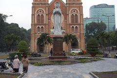 Saigon Notre-Dame Basilica Royalty Free Stock Photo