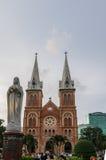 Saigon Notre-Dame Basilica Stock Photography