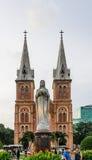 Saigon Notre-Dame Basilica Royalty Free Stock Image