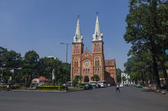 Saigon Notre-Dame Cathedral Basilica Basilica of Our Lady of Th Royalty Free Stock Images