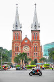 Saigon Notre-Dame Cathedral Basilica Royalty Free Stock Photo