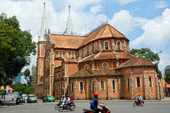 Saigon Notre Dame Cathedral in Ho Chi Minh City, Vietnam Royalty Free Stock Photo