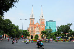 Saigon Notre Dame Cathedral Royalty Free Stock Photo