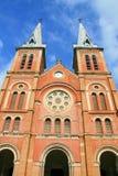 Saigon Notre Dame Cathredal Image libre de droits