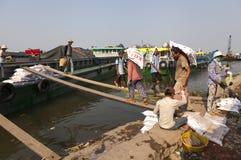 Saigon old river port Stock Photography