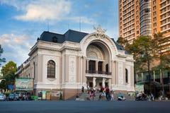 Saigon opera Fotografia Royalty Free