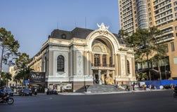 Saigon Opera House Royalty Free Stock Photos