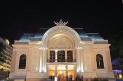 Saigon Opera House Khoi street cityscape Ho Chi Minh City Saigon Vietnam Royalty Free Stock Images