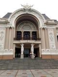 Saigon opera lub Miejski Theatre Ho Chi Minh miasto, Wietnam Zdjęcie Stock
