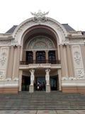 Saigon opera lub Miejski Theatre Ho Chi Minh miasto, Wietnam Obraz Royalty Free