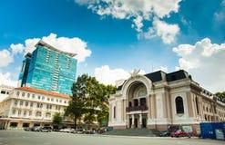 Saigon-Opernhaus oder städtisches Theater von Ho Chi Minh City, Vietnam Stockfotos
