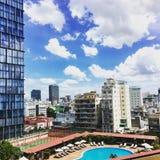Saigon& x27; s-morgon Arkivbilder