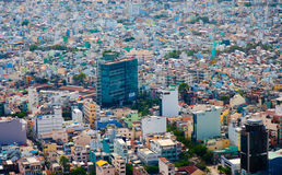 Saigon skyline Royalty Free Stock Photo
