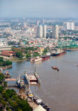 Saigon skyline Stock Image