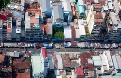 Saigon skyline Royalty Free Stock Image