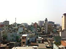 Saigon-Stadtbild Stockfotografie