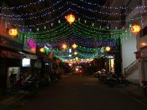 Saigon-Straße Stockbild