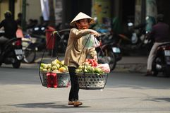 Saigon streetlife stock photo