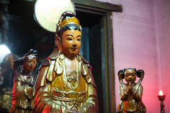 saigon tempel Royalty-vrije Stock Fotografie