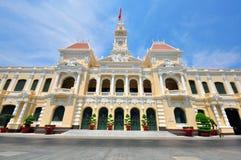 Saigon townhall, Vietnam Royalty Free Stock Photo