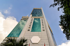 The Saigon Trade Center. Building,  it was the tallest building in Vietnam from 1997 until 2010, when it was surpassed by the Bitexco Financial Tower Stock Images