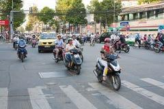 Saigon,Vietnam Stock Photo