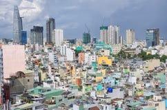 Saigon, Vietnam sah von der Spitze an Lizenzfreie Stockbilder