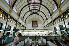 Saigon zentrale Post, Vietnam Lizenzfreie Stockbilder
