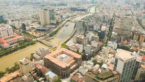 Saigonstad Rusland, khanty-Mansiysk Stock Foto's