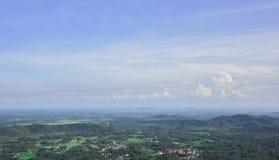 Saikhao Pattani Tajlandia punkt widzenia obrazy stock