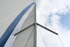 Sail. Under full sails Stock Photo