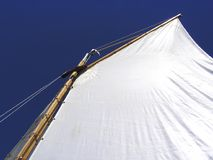 Sail. Abstract sailing dinghy sail Royalty Free Stock Photography