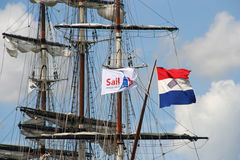 Sail Amsterdam Royalty Free Stock Photography