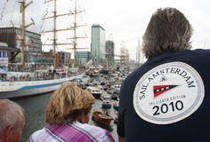 Sail Amsterdam Royalty Free Stock Image