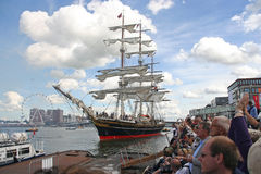 Sail Amsterdam Royalty Free Stock Photos