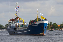 Sail Amsterdam 2010 - The Sail-in Parade Stock Photography