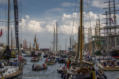 Sail Amsterdam 2015 Royalty Free Stock Photography