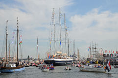Sail Amsterdam 2015 Royalty Free Stock Photos