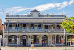 Sail and Anchor Hotel - Fremantle. Sail and Anchor Hotel, or Freemasons' Hotel, is a prime example of the Federation Filigree architectural style Royalty Free Stock Images