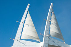 Sail Architecture Royalty Free Stock Images