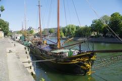 Sail Barge Stock Image