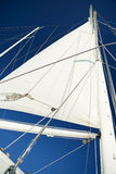 Sail with Blue Sky Stock Image