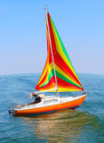 The sail boat. Royalty Free Stock Photo