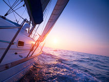 Sail boat royalty free stock image