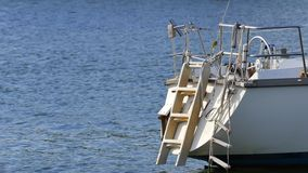 Sail boat 4k stock video footage