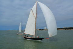 Sail boat in La Rochelle, France Royalty Free Stock Photography
