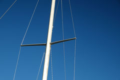 Sail boat mast Royalty Free Stock Photography