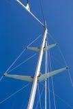 Sail boat mast Stock Photos