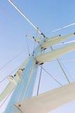 Sail boat mast Stock Image