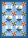 Sail Boat Quilt Stock Images